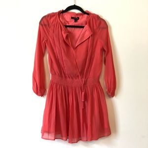 Coral dress by BR